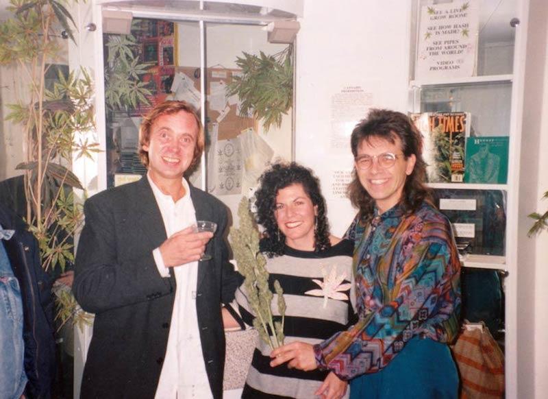 Chris, Mikki, Ben